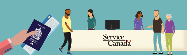 Apply or renew your passport at more than 300 Service Canada Centres