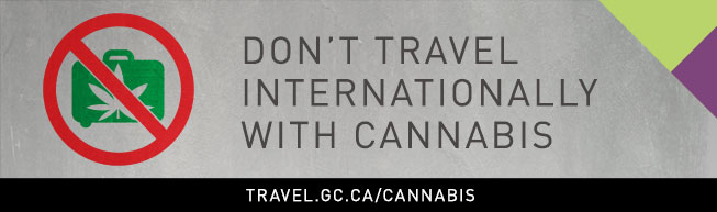 Cannabis and international travel