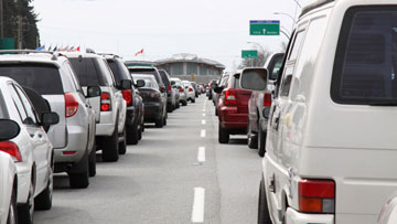 Travel.gc.ca - U.S. to Canada border wait times